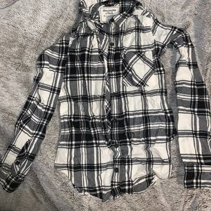 Super Soft Black and White Flannel